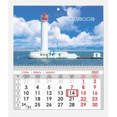 Односекционный календарь Воронцовский маяк 6