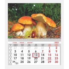 Календарь односекционный Природа 01