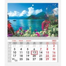 Календарь односекционный Природа 08