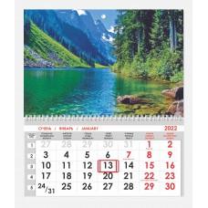Календарь односекционный Природа 11