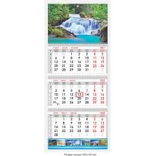 Календарь квартальный «Природа» 04