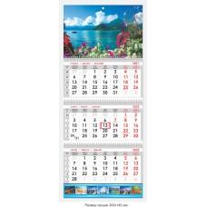 Календарь квартальный «Природа» 08