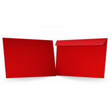 Конверт красный