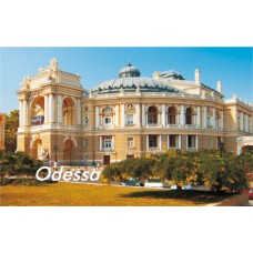 Магниты с видами Одессы. Оперный театр 1 (90х55)