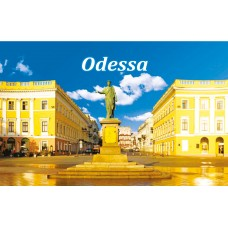 Магниты с видами Одессы. Дюк 1 (90х55)