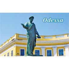 Магниты с видами Одессы. Дюк 7 (90х55)