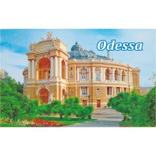 Магниты с видами Одессы. Оперный театр 8 (90х55)